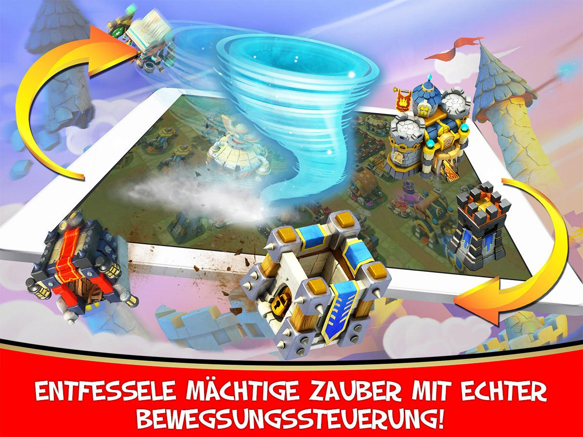 Schloss Konflikt: Castle Clash - screenshot