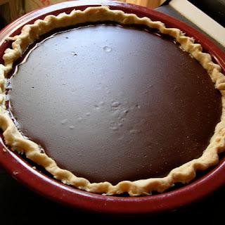 My Granny's Cocoa Cream Pie