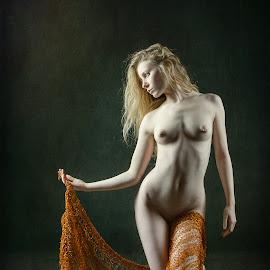 Lulu and Saffron by John McNairn - Nudes & Boudoir Artistic Nude ( colour, studio, scotland, model, nude, creative )