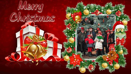 Merry Christmas GIF Photo Frame : Christmas Editor - náhled