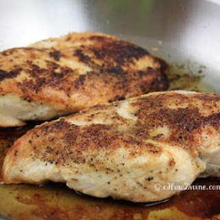 Easy Baked Chicken Breast.