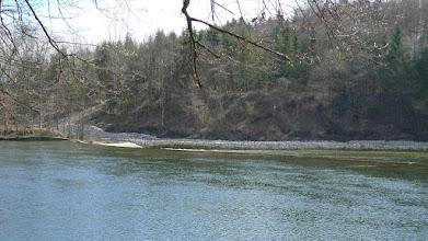 Photo: das ist der fischaufstieg auf der anderen seite der traun, der voriges jahr gebaut wurde - das haben wir uns damals angeschaut