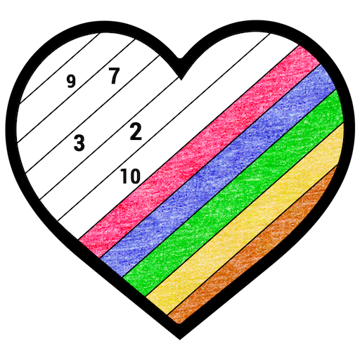 Crayon Color by Number: Adult Paint Number Book Icon