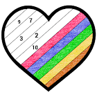 Adult Crayon Color by Number Book - Sandbox Pages icon