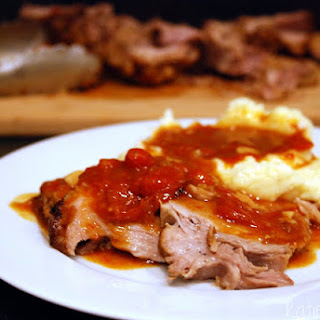 Pork Roast with Tomatoes