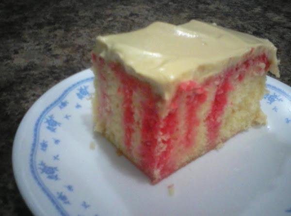 Refrigerator Jello Cake Recipe