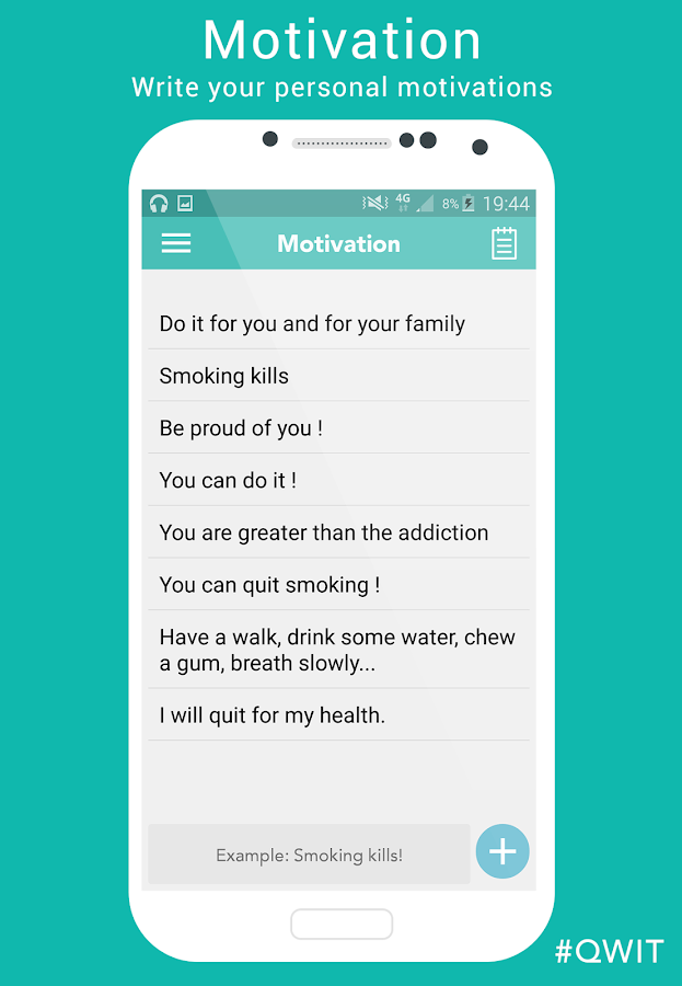 Qwit (Quit Smoking)- screenshot