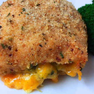 Stuffed Chicken Breast with Broccoli and Cheddar.