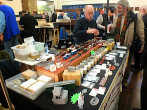 Photo: 006 Chris Ward was present with his well known and very well stocked range of CWR 3D printed models .