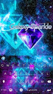 Galaxy-Sparkle-Kika-Keyboard 1