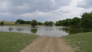 Photo: Friday: all open. Sunday: flooded again.
