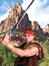 """Photo: Brent - Fantasy Fiction Nerd - Tried to start a """"Bring your sword to work"""" day. HR said no."""