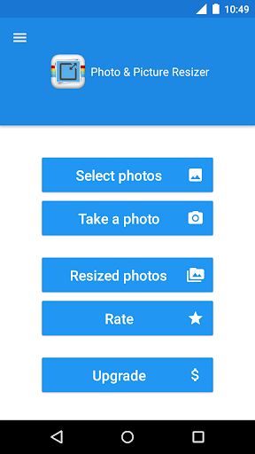 Photo & Picture Resizer 1.0.200 screenshots 1