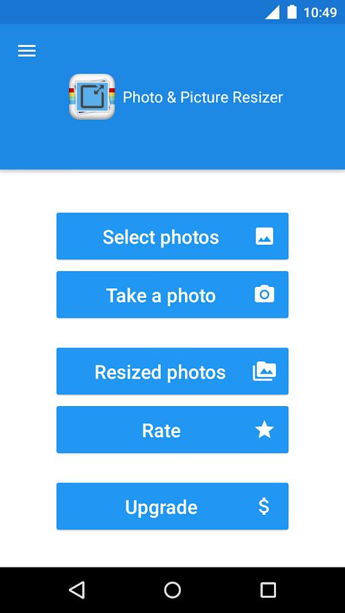 Screenshot 1 Photo & Picture Resizer 1.0.179 APK PAID