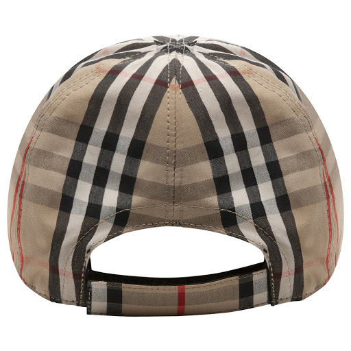 Thumbnail images of Burberry Checked Cap