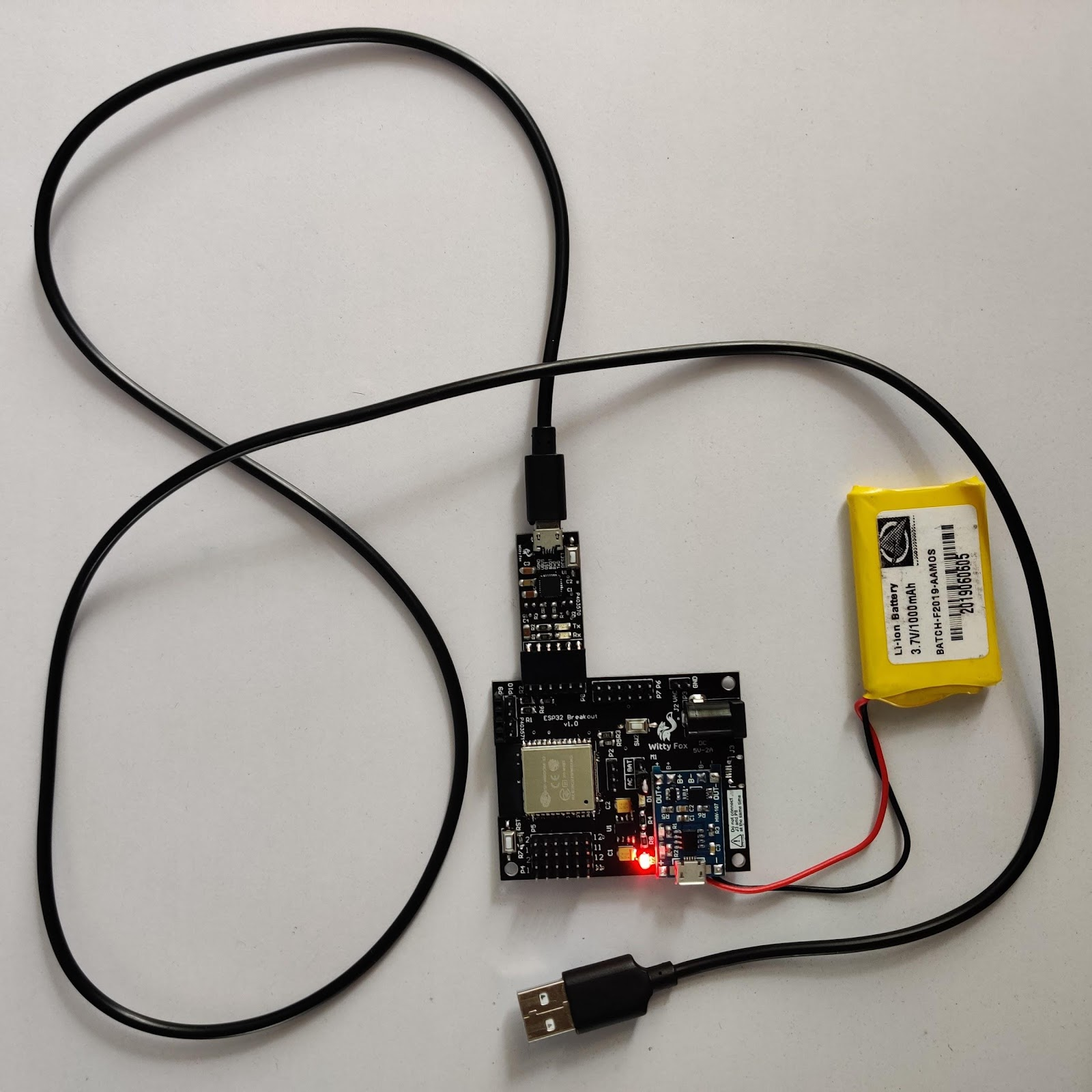 Programmer+board connections
