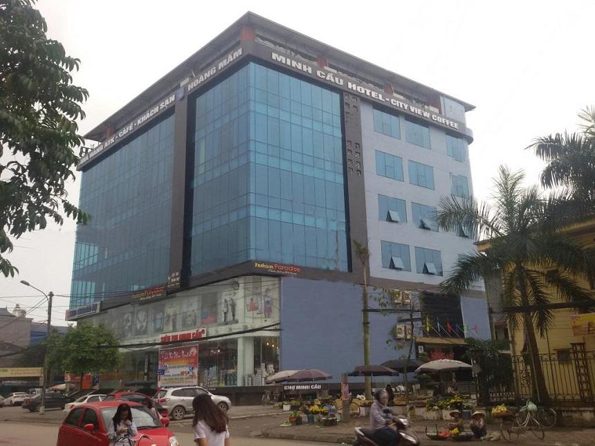 Khách sạn Hoàng Mấm tọa lạc tại trung tâm thành phố Thái Nguyên