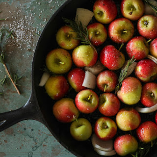 Roasted Crimson Gold Apples.