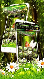 Beautiful Green Forest Fairy Theme 1.1.3 Download Mod Apk 2