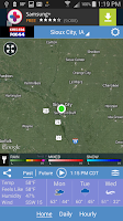 Screenshot of Siouxland Weather