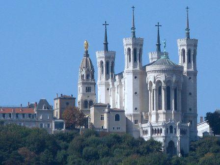 photo de Notre Dame de Fourvière
