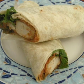 Chicken Salsa Ranch Wraps
