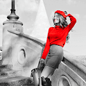 Black and Color Photo Editor icon