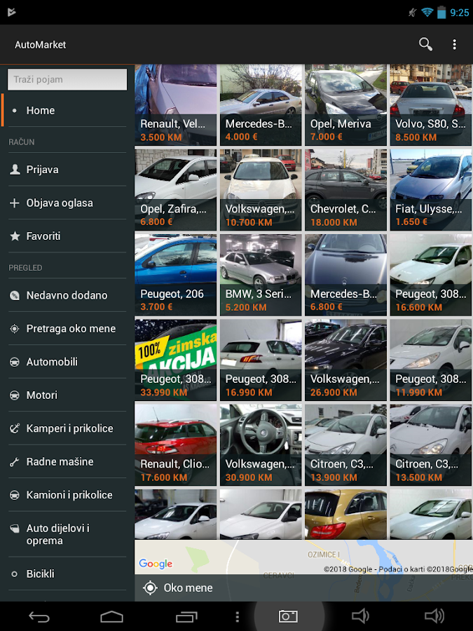 AutoMarket.ba - Auto Market - Used and New Cars- screenshot