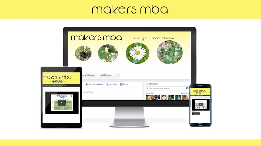 Makers MBA on 3 devices