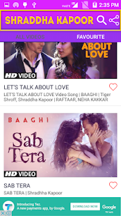 Video Songs of Shraddha Kapoor - náhled