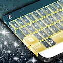 Keyboard Yellow Free Theme icon