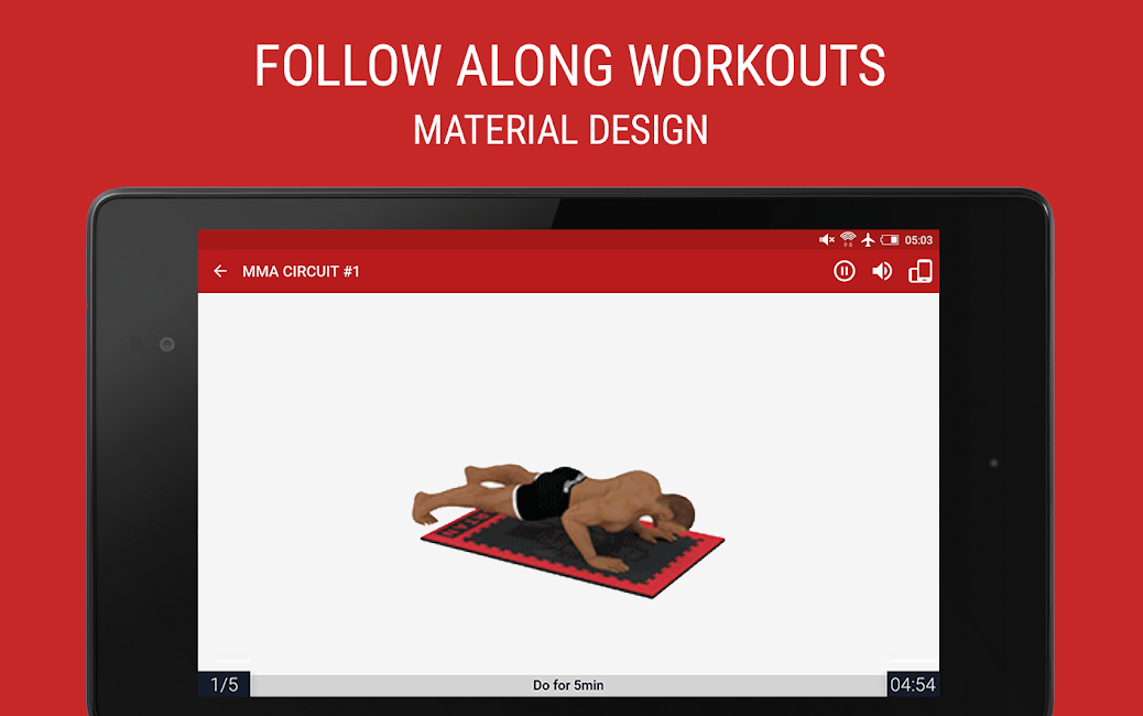 #8. MMA Spartan Workouts Pro (Android)