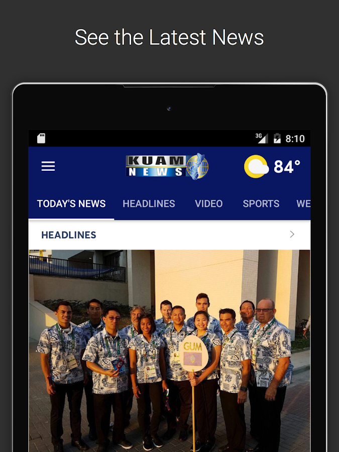 KUAM - Guam's News Network- screenshot