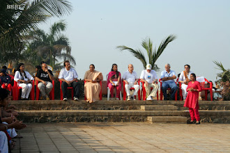 Photo: Baba Siddiqe,  Aasif Zakaria,  Sister Pear Anne &  Rotary President S.D. Puri