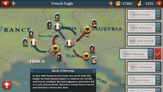 European War 6: 1804 MOD APK [Unlimited Money + Unlockd] 6