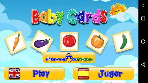 Baby Cards Verduras
