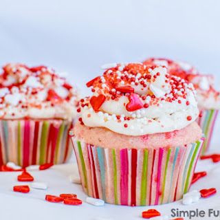 Vanilla Sprinkle Cupcakes Recipe