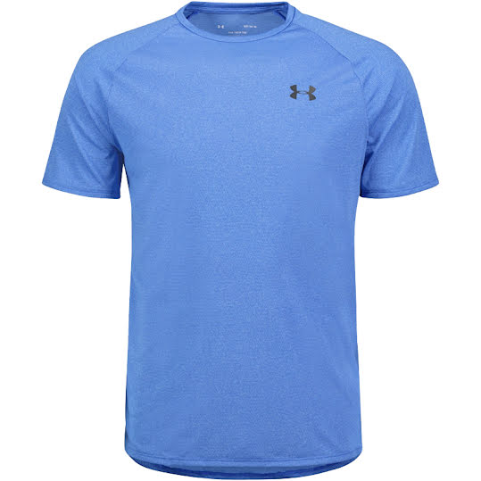 Under Armour Tech 2.0 Short Sleeve T-shirt Herr Blå Stl L