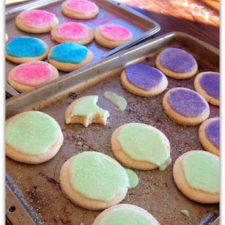 Soft Cutout Sugar Cookies