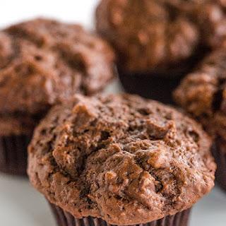 Triple Chocolate Chunk Muffins.