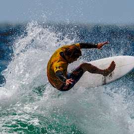 BroAm 2 by Mark Ritter - Sports & Fitness Surfing ( surf, surfer, waves, broam, moonlight beach, ocean, surfing, encinitas, california )