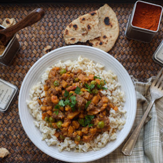 Ground Beef Sweet Potato Curry Recipe