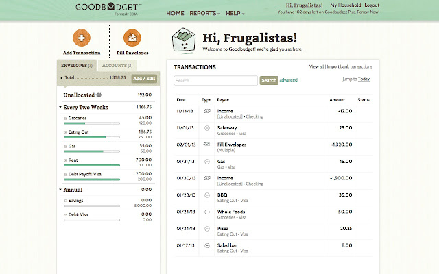 an online budgeting tool to help you budget well live life and do good