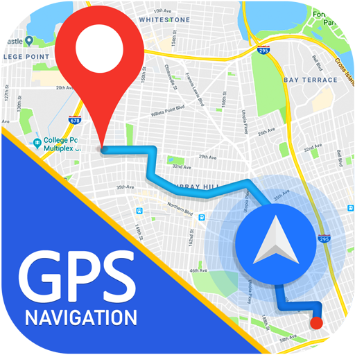 GPS Route Maps & Navigation, Driving Directions