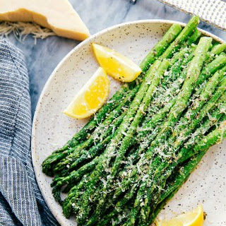 Easy Oven Roasted Parmesan Asparagus