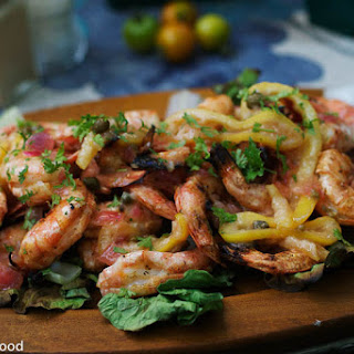 BBQ Shrimp with Lemon Sauce