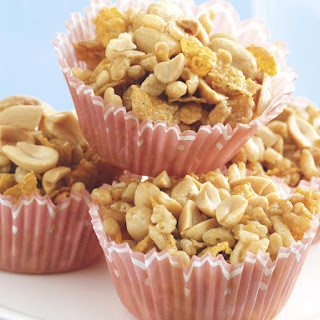 Golden Peanut Cereal Treats