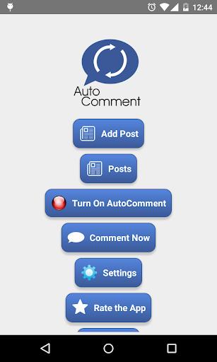 Auto Comment  screenshots 1