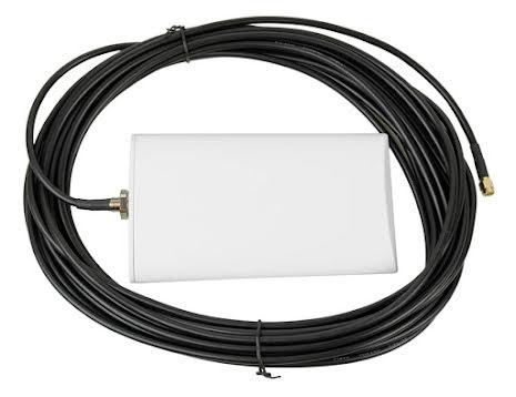 Antenn 4G med fäste & 10 m kabel