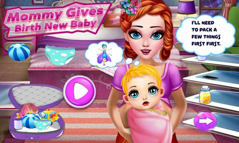 android Mommy Gives Birth New Baby Screenshot 0